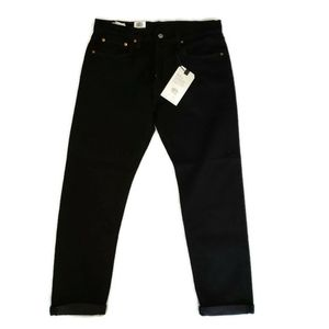 Levi's  Mens black hi-ball roll jeans size 32 NWT